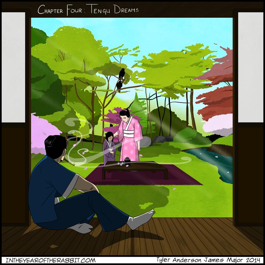 Chapter Four: Tengu Dreams