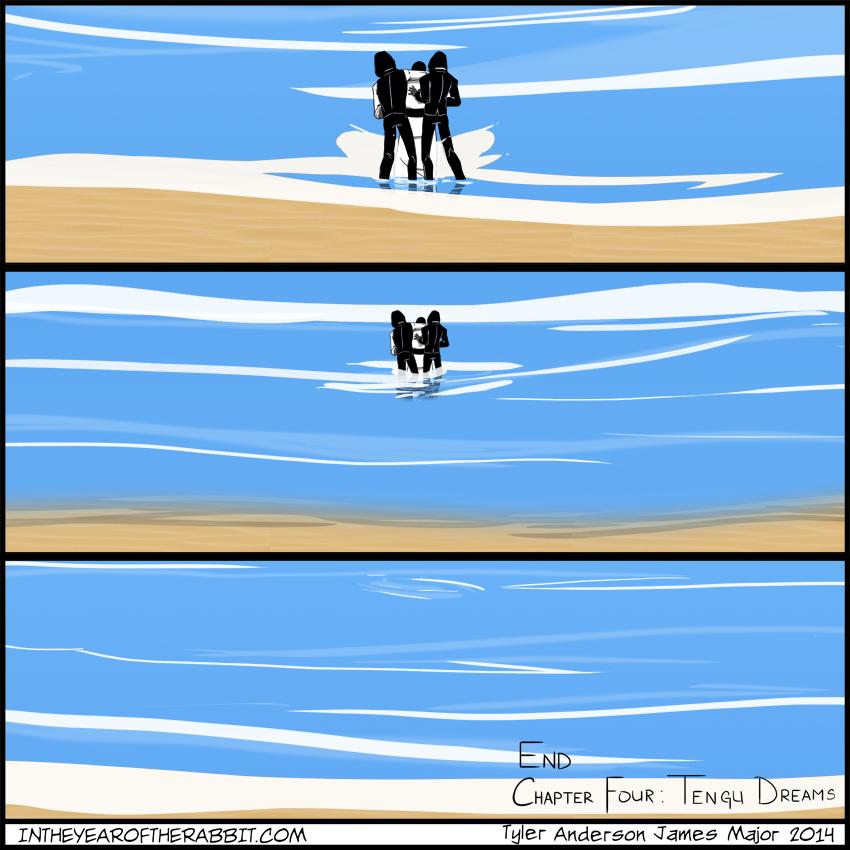 End Chapter Four: Tengu Dreams